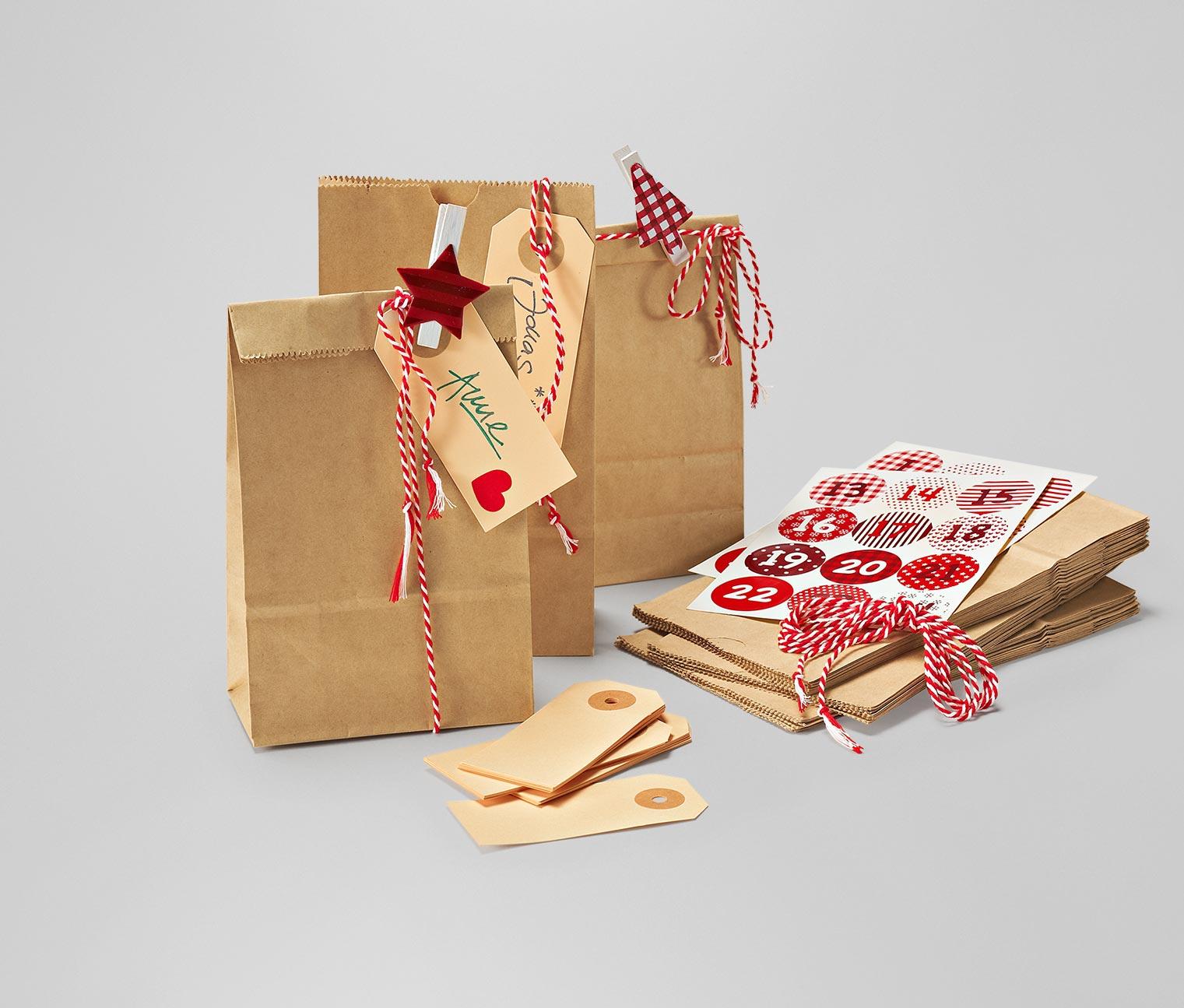 Bastelset adventskalender von tchibo adventskalender und weihnachten wir freuen uns darauf - Bastelset weihnachten ...