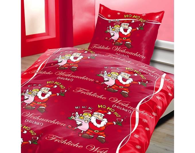 bettw sche fr hliche weihnachten zum schn ppchenpreis. Black Bedroom Furniture Sets. Home Design Ideas